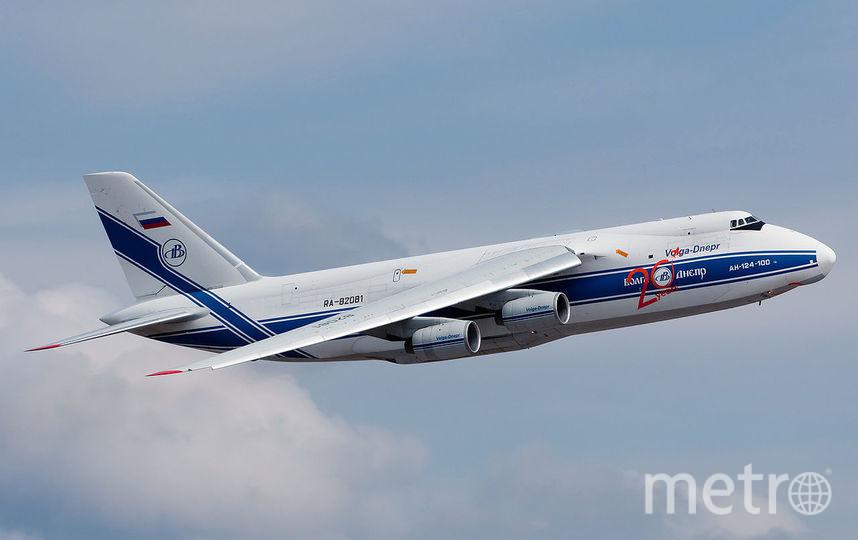 "Ан-124 ""Руслан"". Фото Википедия, РИА Новости"
