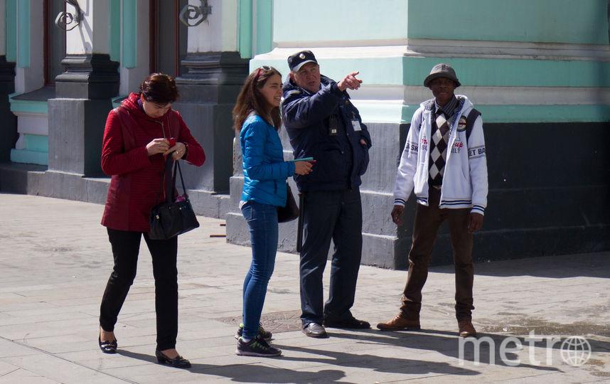 Иностранец проверил Москву перед чемпионатом мира по футболу. Фото Василий Кузьмичёнок