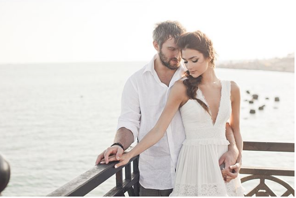Овечкин и Шубская. Фото https://www.instagram.com/nastyashubskaya/
