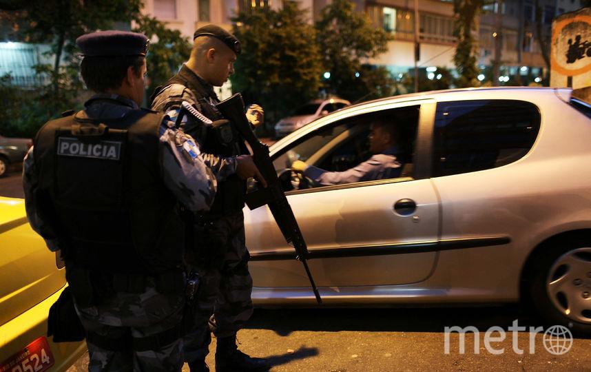 Полиция Бразилии. Фото Getty