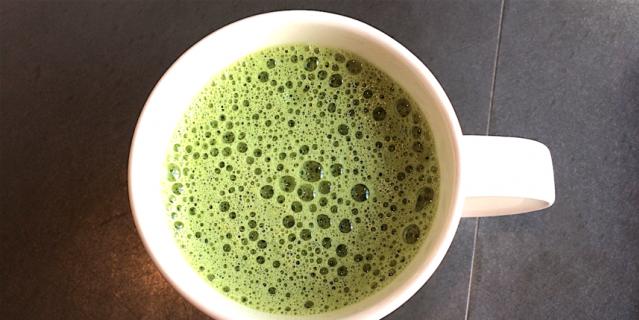 Маття чай Латте из Starbucks.