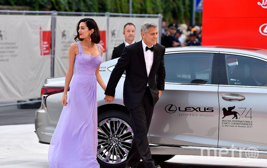 Джордж и Амаль Клуни. Фото Архивные фото, Getty