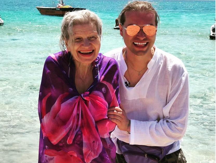 Гоген Солнцев с супругой, фотоархив. Фото скриншот www.instagram.com/solntcev/