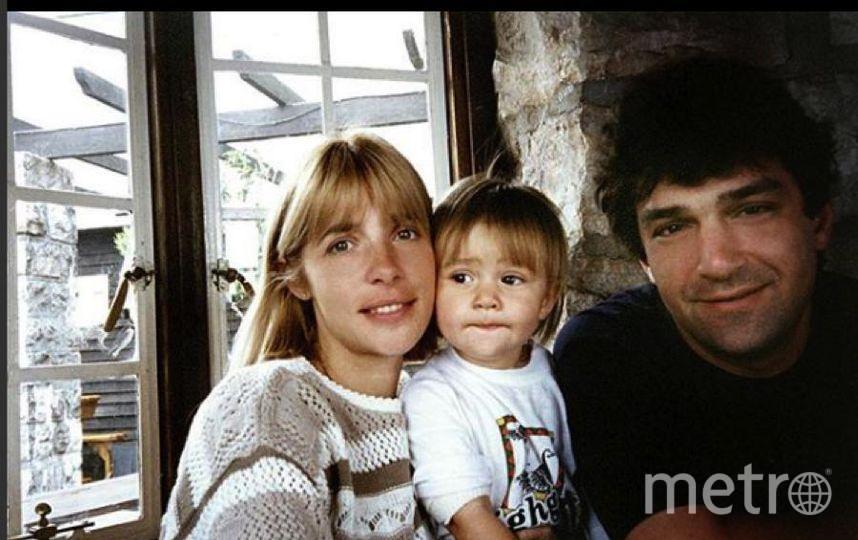 Анастасия Шубская с мамой и папой. Фото Instagram