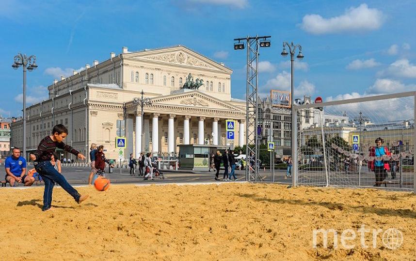 Поиграть в пляжный волейбол можно будет у стен Кремля. Фото Предоставлено организаторами
