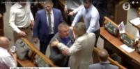 Депутаты Рады устроили драку