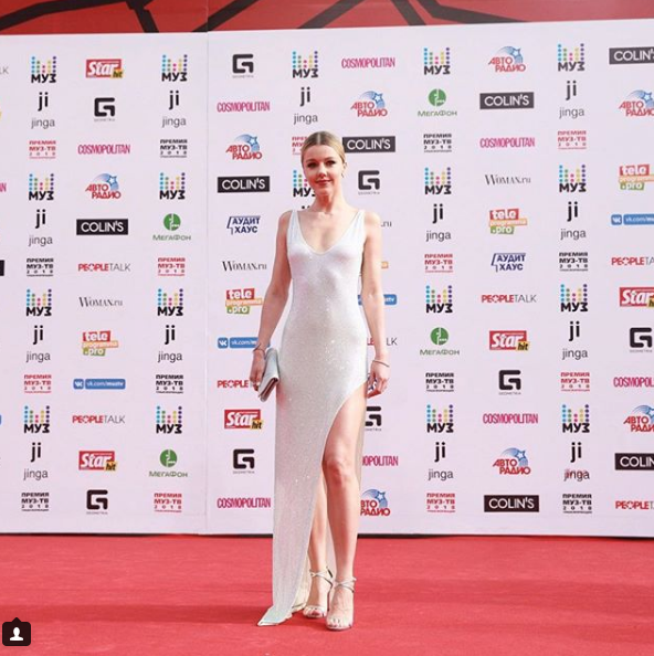Юлианна Караулова. Фото скриншот https://www.instagram.com/muztv/?hl=ru