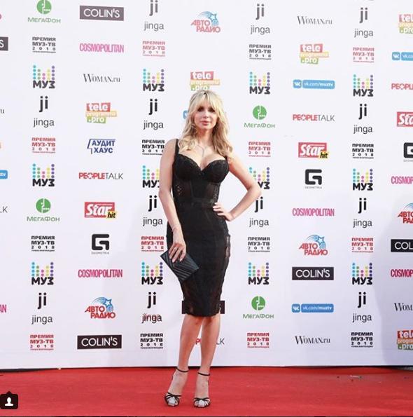 Светлана Лобода. Фото скриншот https://www.instagram.com/muztv/?hl=ru