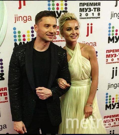 Наряды Муз-ТВ-2018. Сергей Лазарев и Полина Гагарина. Фото Instagram