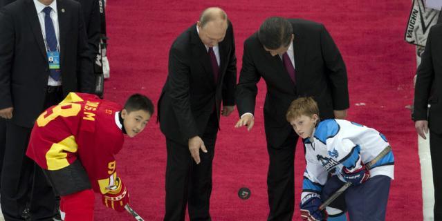Путин в Китае.