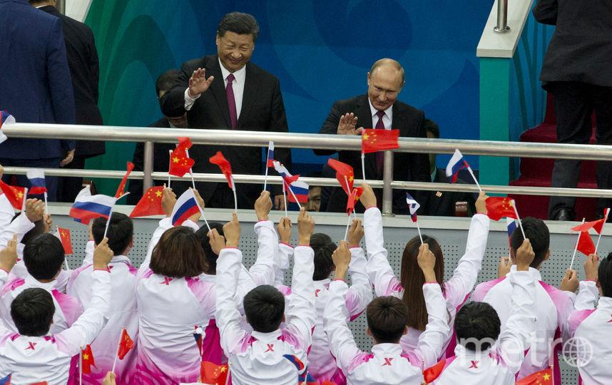 Путин в Китае. Фото Getty
