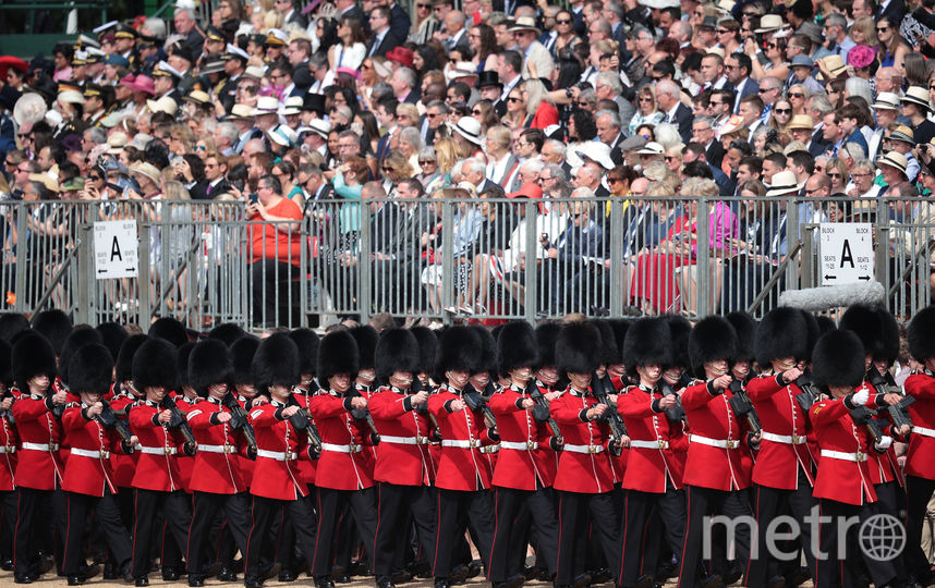 Парад Trooping the Colour 9 июня 2018 года. Фото Getty
