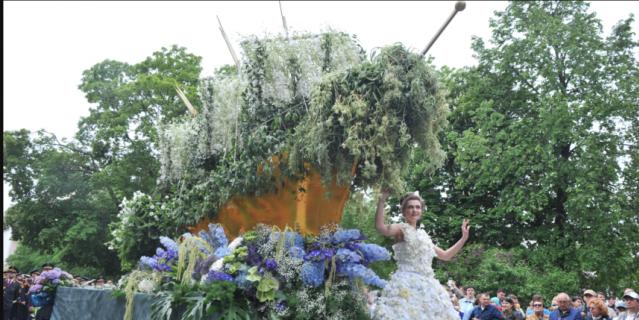 День России в Петербурге в 2017-м году: фестиваль цветов.