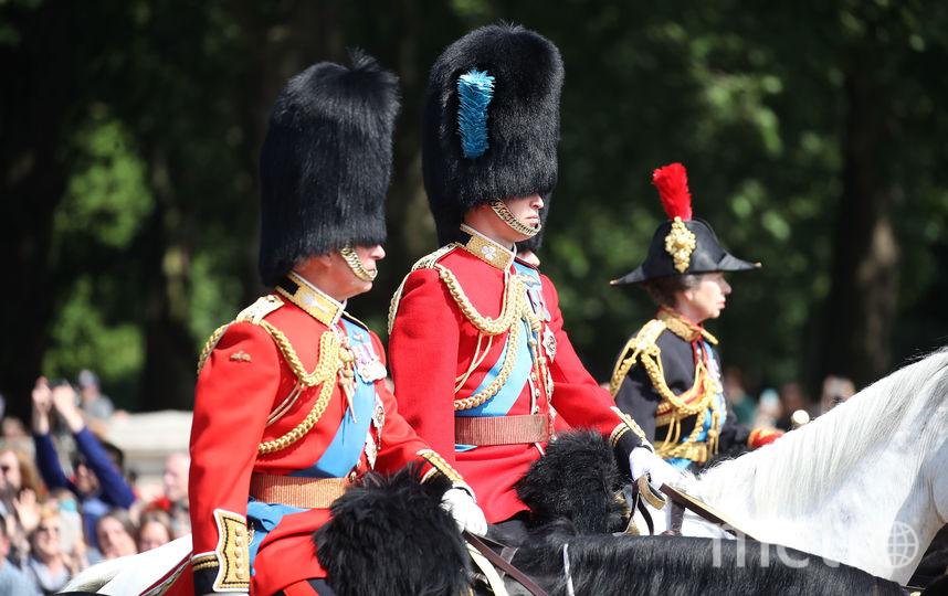 Принц Чарльз и принц Уильям. Фото Getty