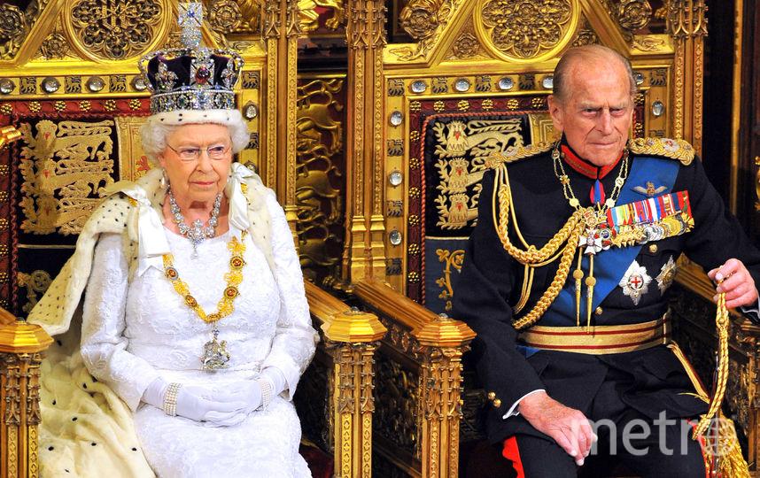 Принц Филипп и королева Елизавета II. Фото Getty