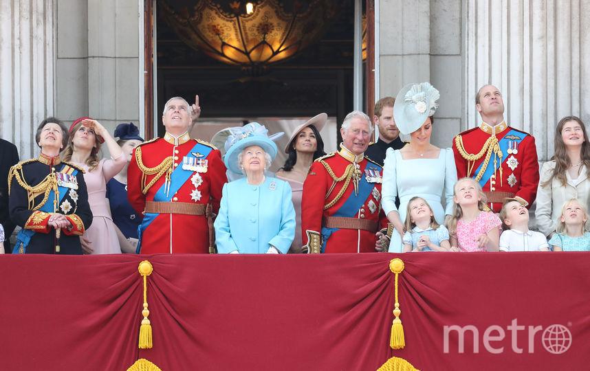 Королевская семья на балконе Букингемского дворца. Фото Getty