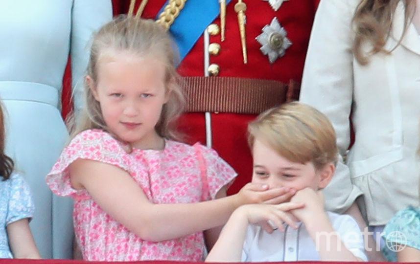 Саванна Филлипс и принц Джордж. Фото Getty