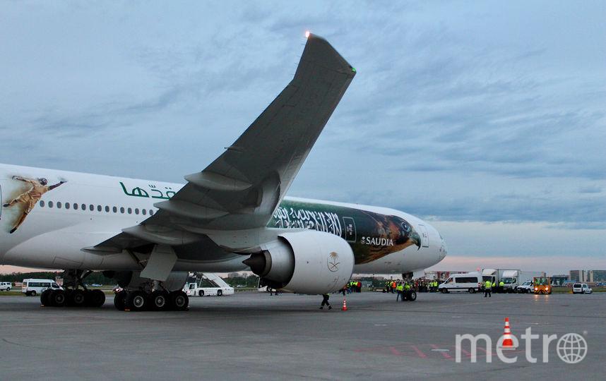 Команда Саудовской Аравии прибыла на свою базу в Санкт-Петербург в рамках Чемпионата мира FIFA 2018. Фото Instagram @pulkovo_airport