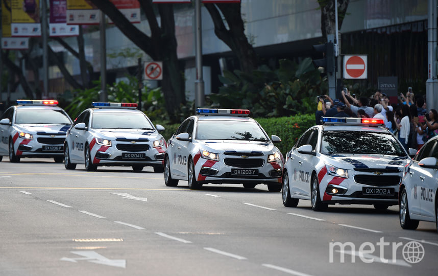 Ким Чен Ын прибыл в Сингапур. Фото AFP