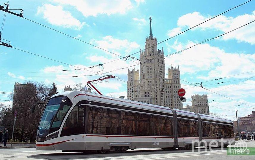 "Трамвай. Фото Василий Кузьмичёнок, ""Metro"""