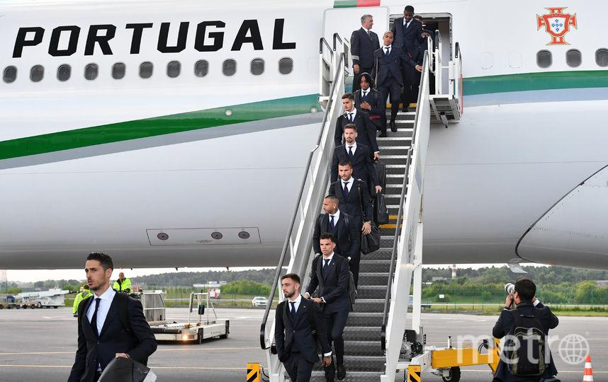 Сборная Португалии прилетела в Россию на чемпионат мира-2018. Фото AFP
