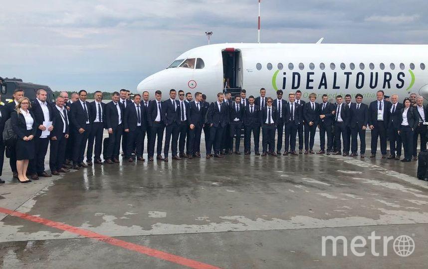 Фото сборной Хорватии. Фото https://twitter.com/HNS_CFF