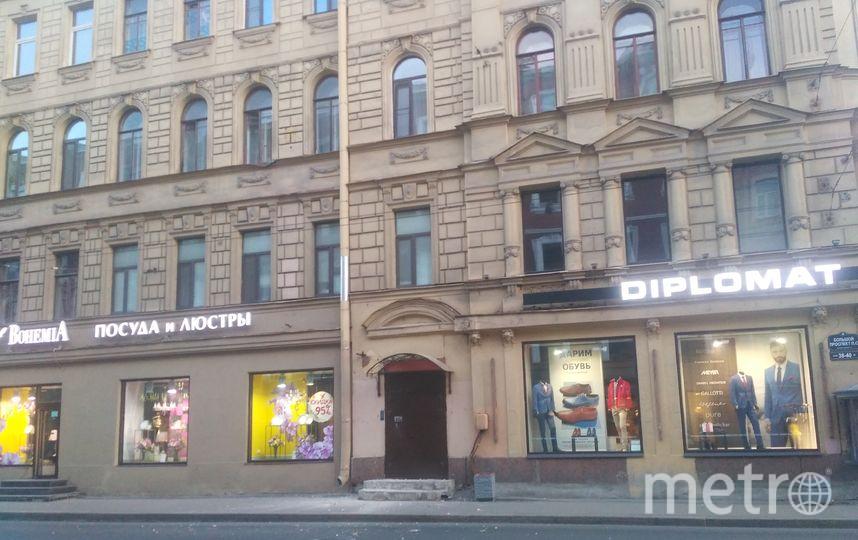 Фото обрушения части фасада прислала в редакцию Анжелика Арутюнян.