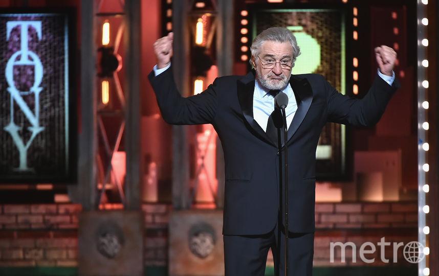 Роберт де Ниро на вручении премии Тони. Фото Getty