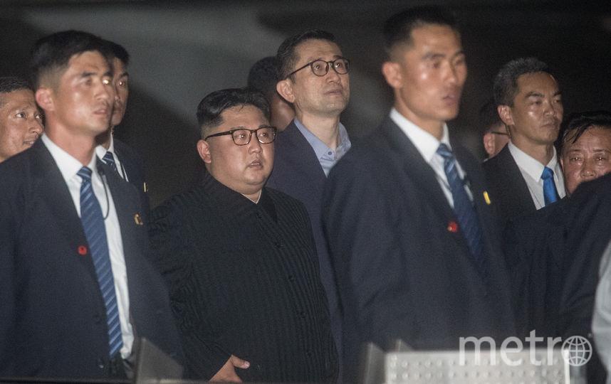 Ким Чен Ын в Сингапуре. Фото Getty