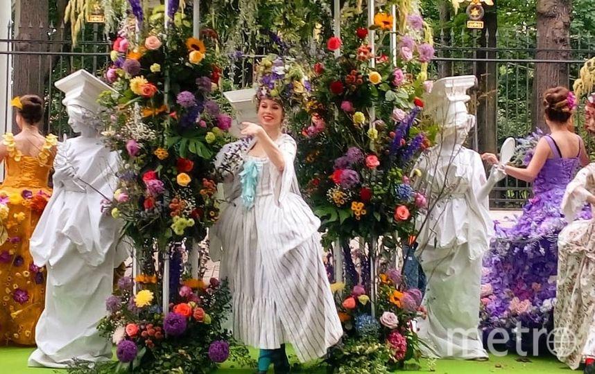 Фестиваль цветов в Петербурге. Фото instagram.com/flowers_festival_2017