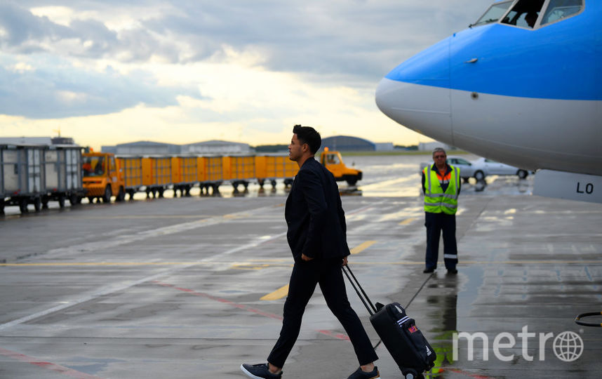 Сборная Мексики прилетела в Россию. Фото Getty