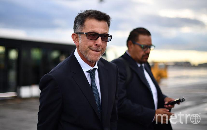Тренер Хуан Карлос Осорио. Фото Getty