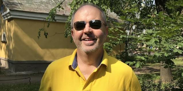 Стефен Бирчли, болельщик из Австралии.