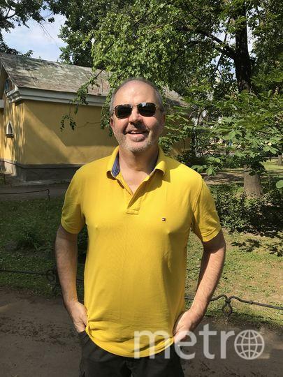 """Стефен Бирчли, болельщик из Австралии. Фото Филипп Ковалёв., """"Metro"""""""