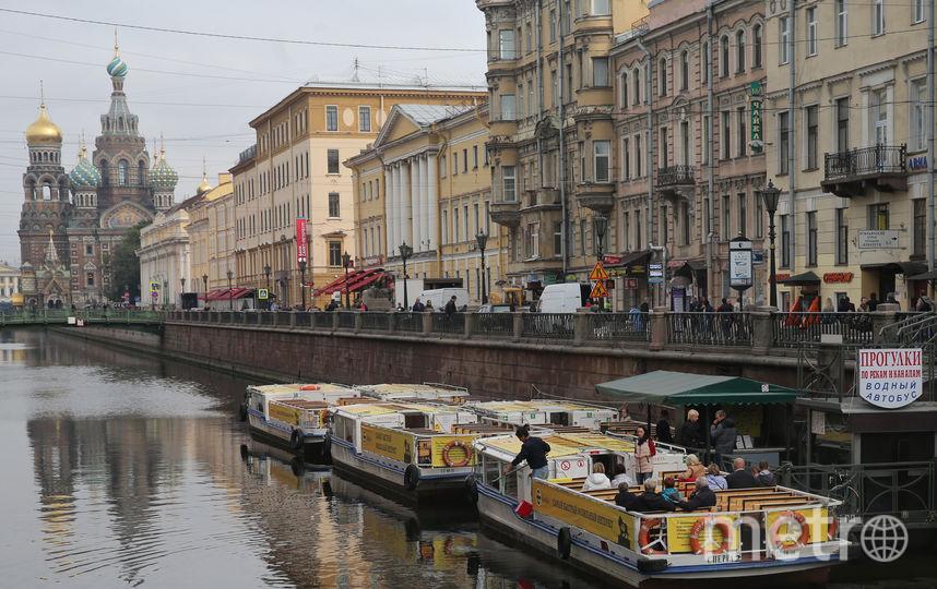По каналу Грибоедова (от Невского проспекта до Мойки) нельзя будет прокатиться на водном транспорте. Фото Интерпресс