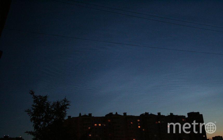 Серебристые облака. Фото  Владимир Мартьянов | vk.com/spb_today., vk.com