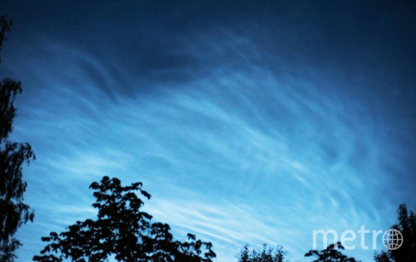 Серебристые облака. Фото Андрей Игнатов | vk.com/spb_today., vk.com