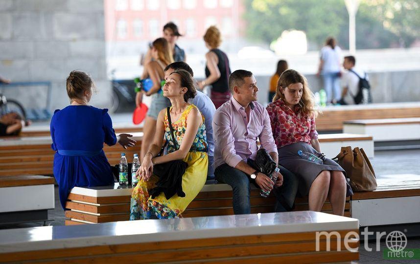 """Жара в Москве. Фото Василий Кузьмичёнок, """"Metro"""""""