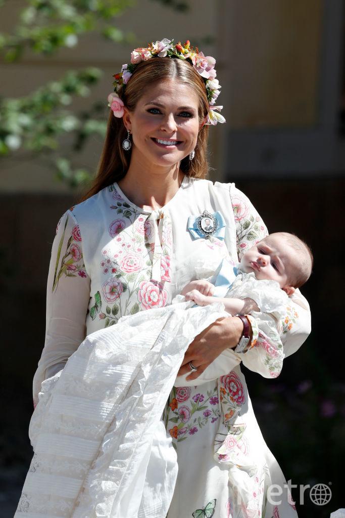 Крестины принцессы Адриенны. Фото Getty