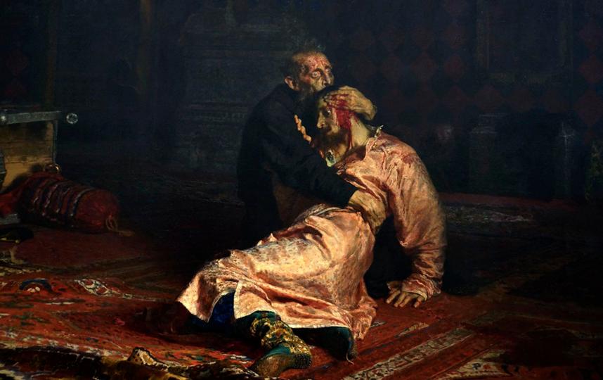 Повредивший картину Репина мужчина объяснил свой поступок. Фото Wikipedia