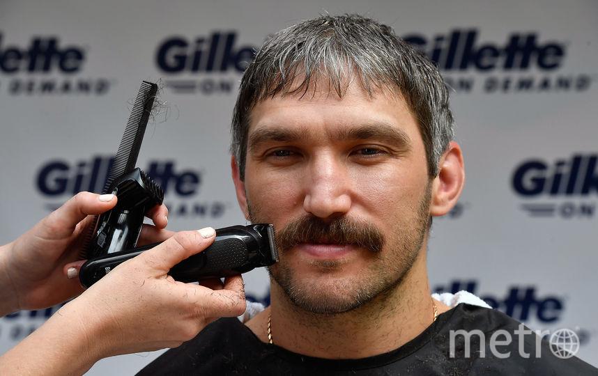 Овечкин сбривает бороду. Фото Getty