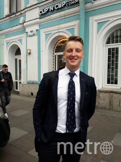 "Никита, 21 год, студент Университета Дарема. Фото Софья Сажнева, ""Metro"""