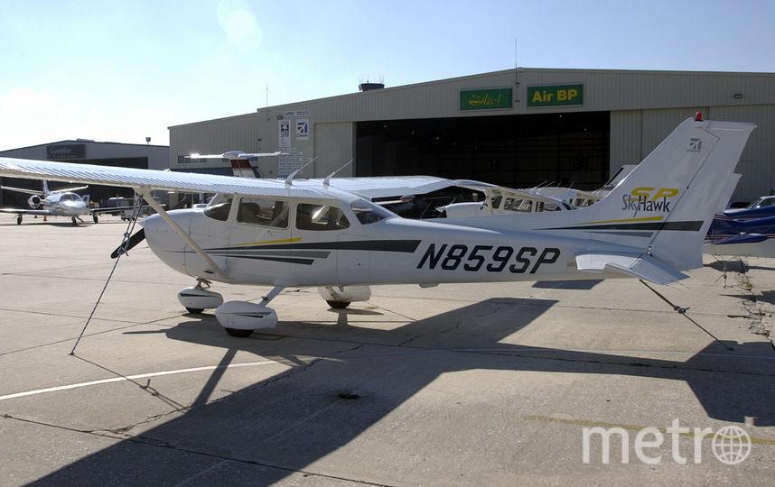 Два самолёта столкнулись в небе над Аляской. Фото Getty