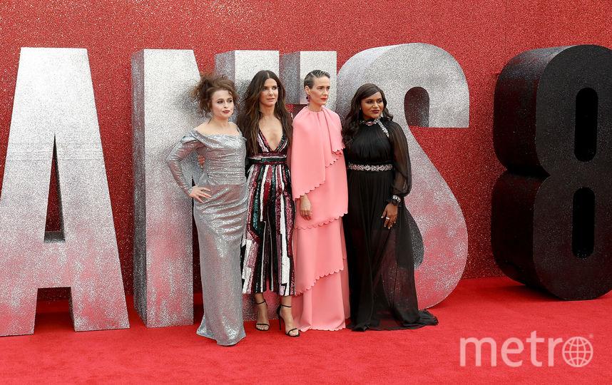 Хелена Бонэм Картер, Сандра Буллок, Сара Полсон и Минди Калинг. Фото Getty
