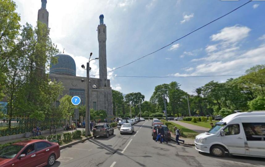 Соборная мечеть. Фото скриншот Яндекс.Панорамы
