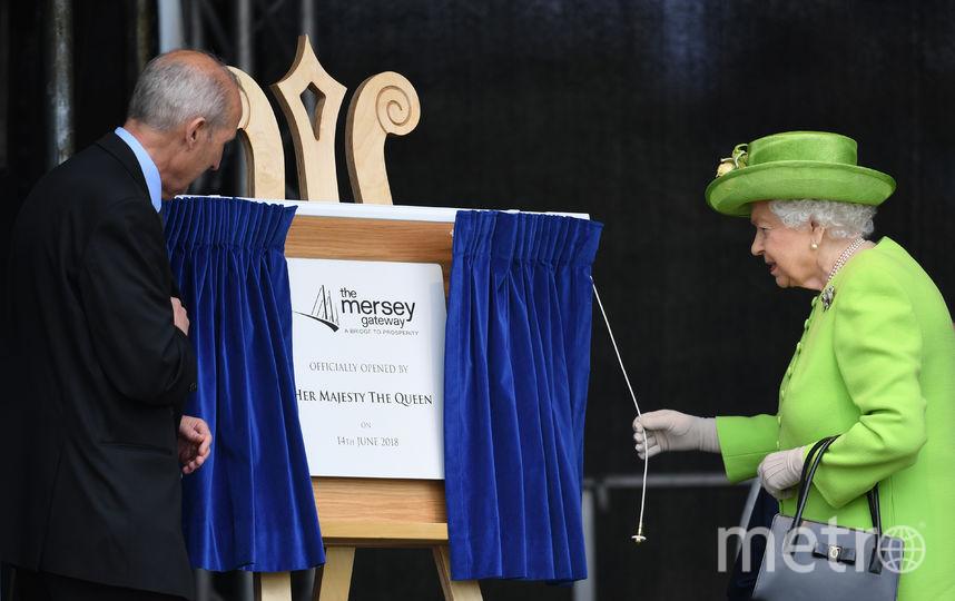Торжественная церемония официального открытия моста. Фото Getty