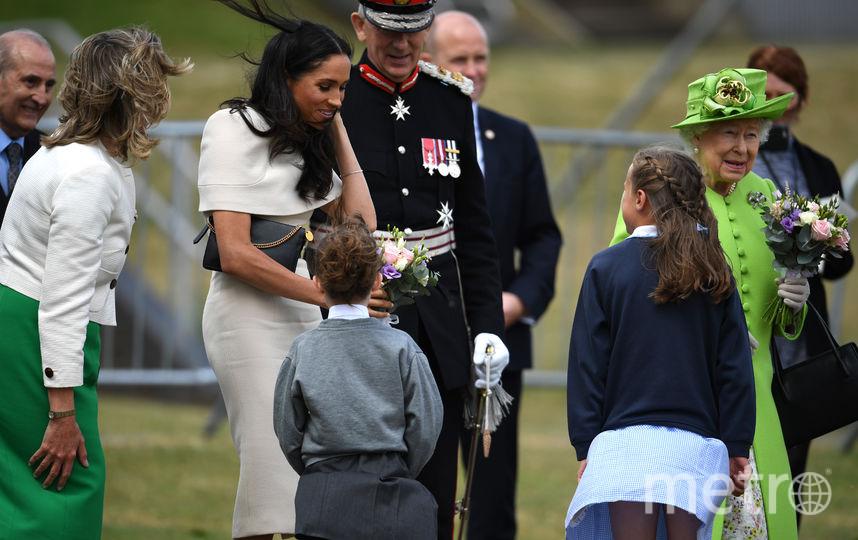 Британцы встречают королеву. Фото Getty