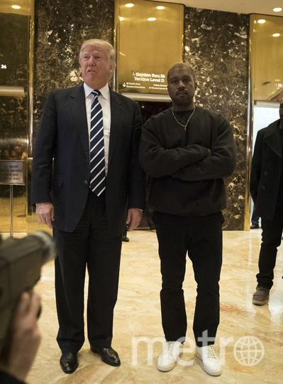 Дональд Трамп и Канье Уэст. Фото Getty
