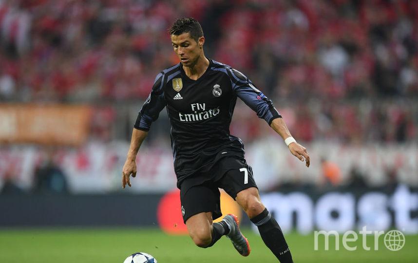 Португальский футболист Криштиану Роналду, 2 место. Фото Getty