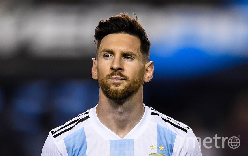 Аргентинский футболист Лионель Месси, 1 место. Фото Getty
